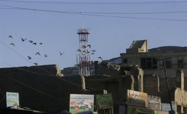 Mobile phone tower destroyed in Afghan south