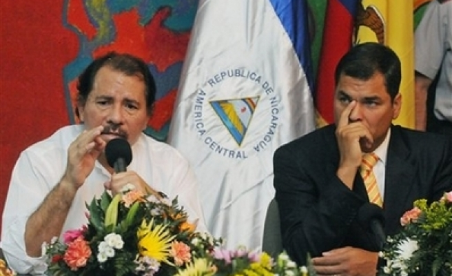 Nicaragua breaks off relations with Colombia