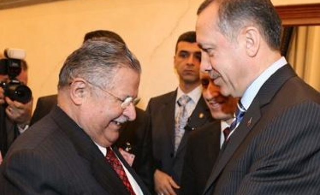 Iraqi president visits Turkey after army operation