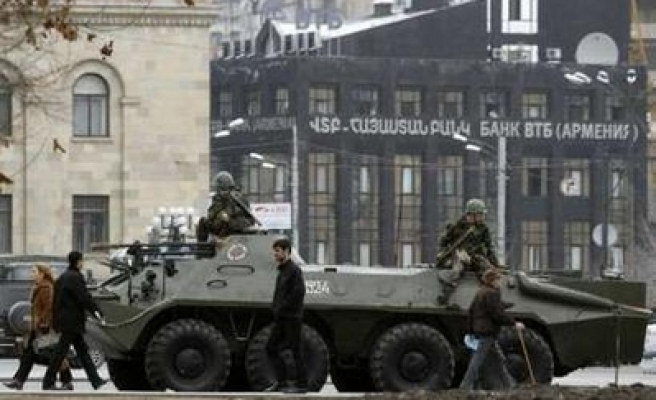Russia and Armenia to hold joint command war games