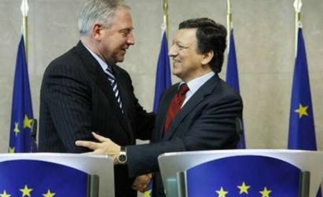 EU says Croatia can conclude entry talks in 2009