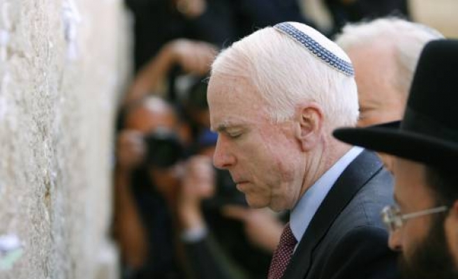 Al-Quds Capital of Israel: McCain