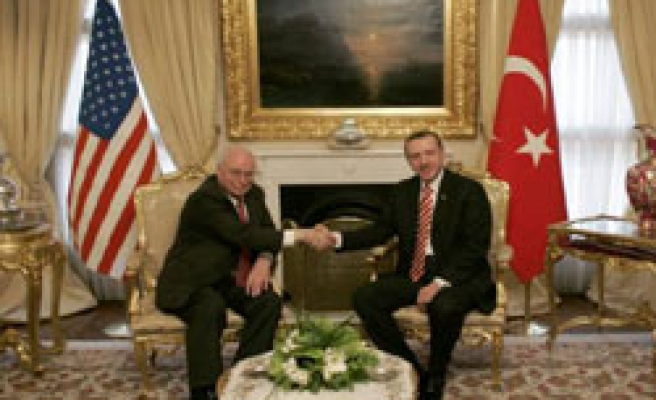 Turkish PM: Cheney didn't ask for more troops to Afghanistan