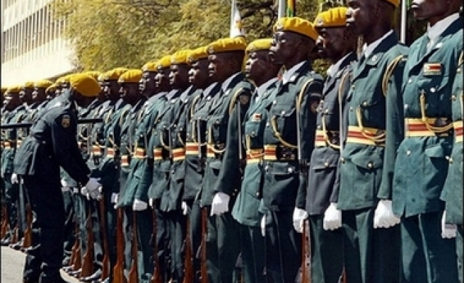 Zimbabwe places security forces on full alert