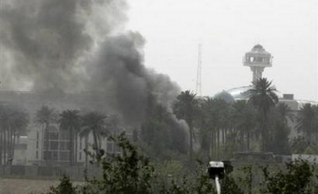 Office of Iraq Vice President hit in missile attack