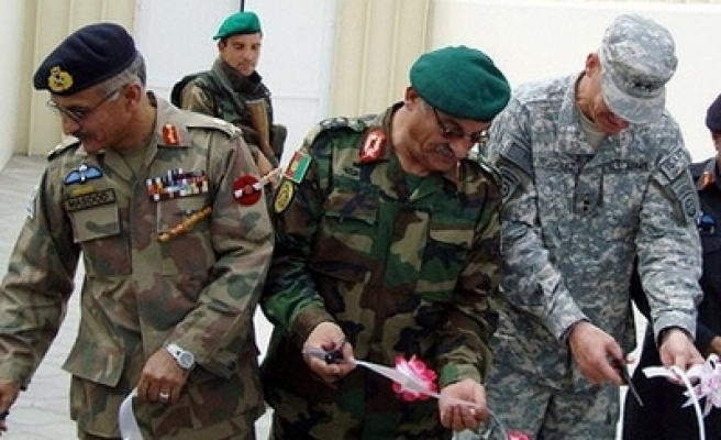 US-Afghan-Pak joint military center opened