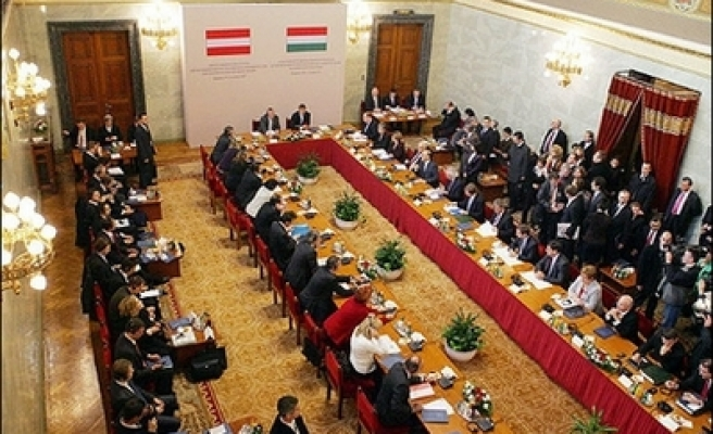 Hungary's junior govt party may pull ministers out