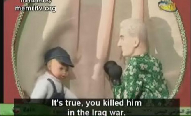 Hamas TV puppet 'kills' Bush / VIDEO