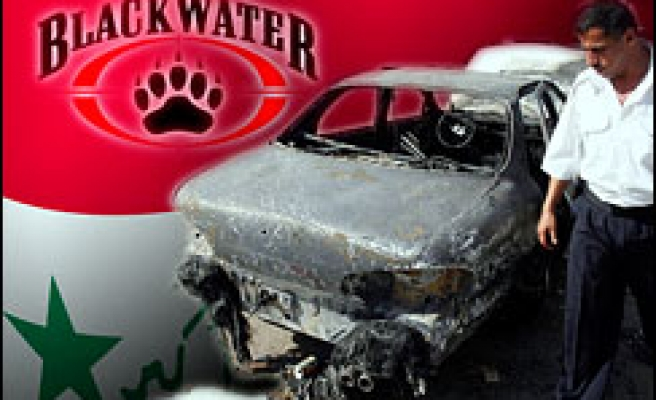 Iraqis angered by renewal of Blackwater contract