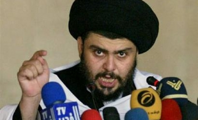 Sadr to disarm if US withdraws on timetable