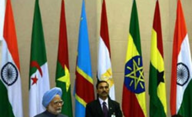India countering Chinese influence with first Africa summit