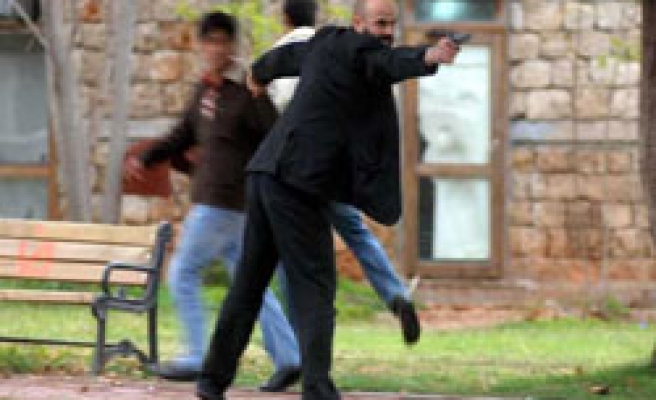 Turkish police still searching for university shooter