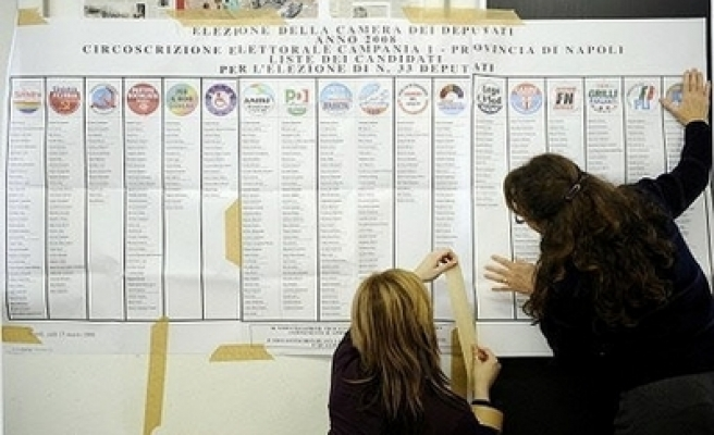 Polls open in Italy's general elections