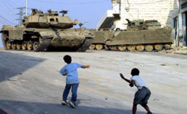 Palestinian children in Israeli military courts