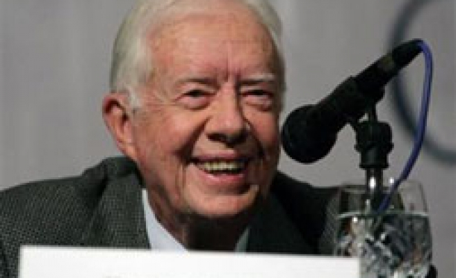 Jimmy Carter: 'Hamas essential to a future peace'