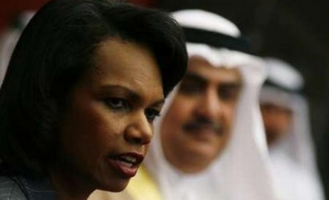 Rice fails to clinch Arab commitments on Iraq