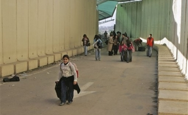 Israel allows 45 Palestinian students to leave Gaza