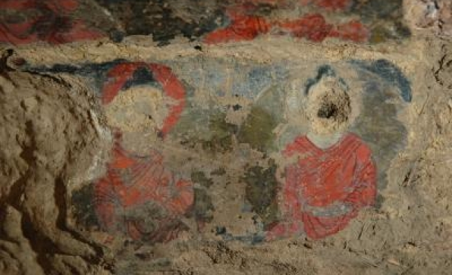 World's oldest oil paintings in Afghanistan