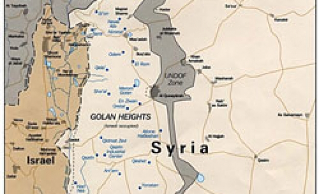 'Olmert ready for withdrawal from Golan: Syrian channel'
