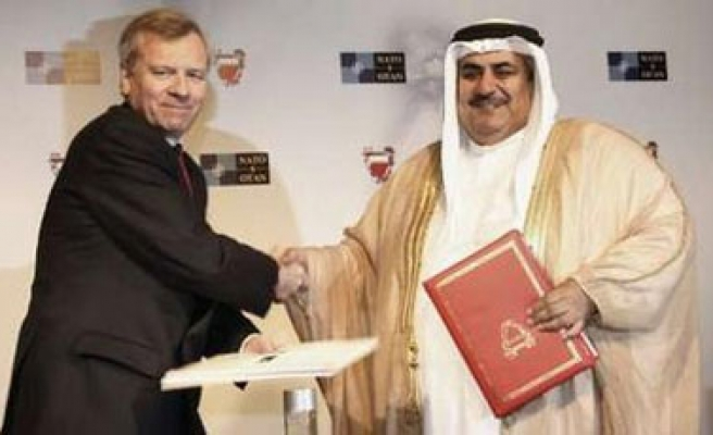 Bahrain signs security deal with NATO
