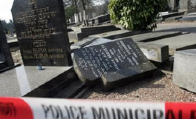 Rural Jewish cemetery damaged in Germany