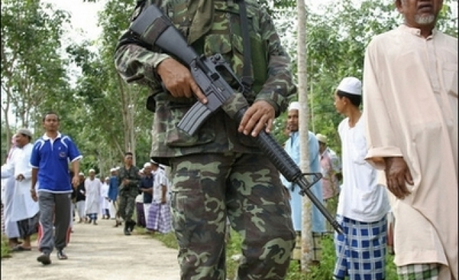 Thai forces on alert as Muslims remember mosque siege