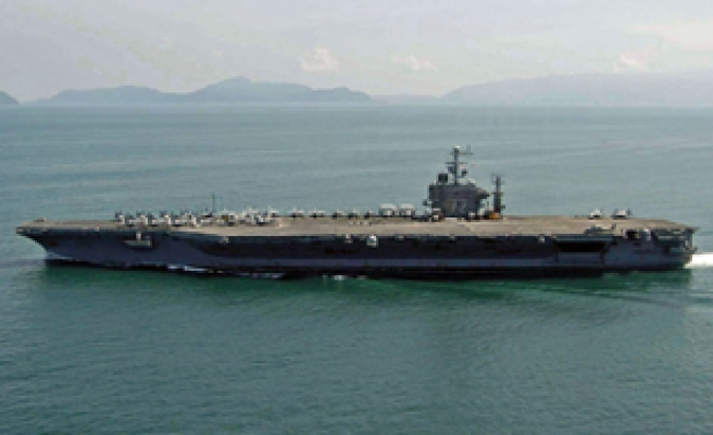 Second US carrier placed in Gulf