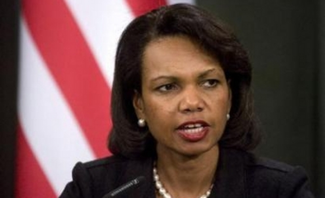 Rice returns to Mideast amid no signs of progress