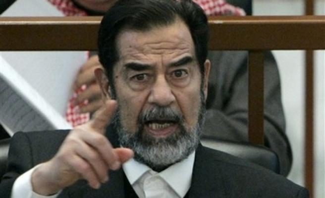 Diaries show Saddam feared getting AIDS in prison