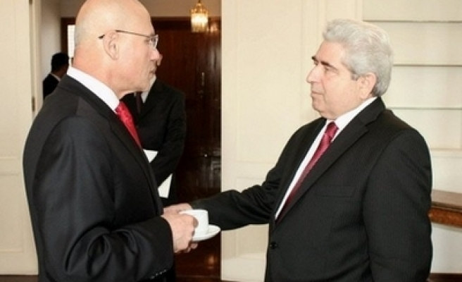 Turk Cypriot President to socialize with Greek Cypriot leaders