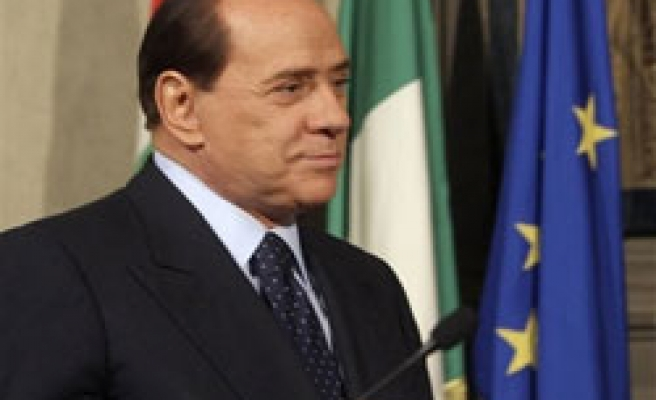 Berlusconi forms new Italy government
