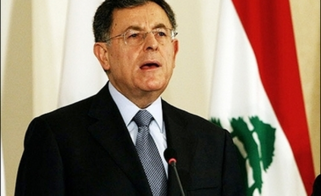 Lebanese PM 'to step down late Friday': Report