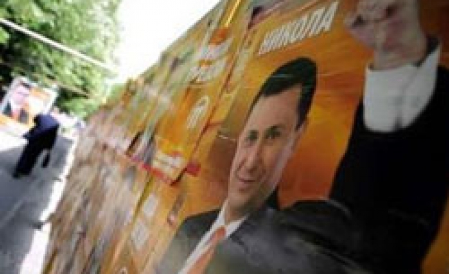 Macedonia stages poll re-run after election violence