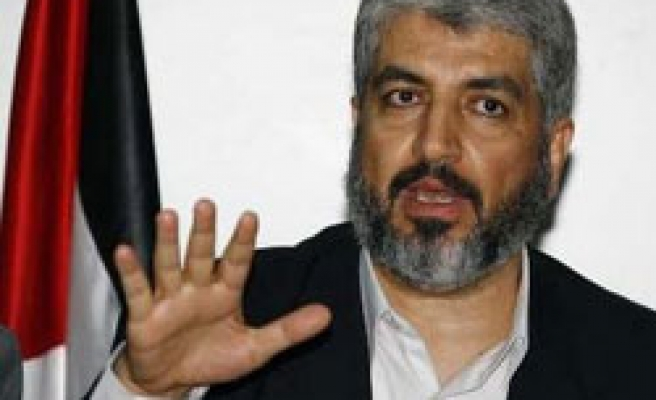 Gaza truce deal to end Israel blockade: Meshaal