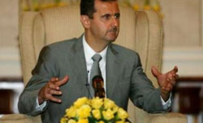 Syria's Assad: No direct talks with Israeli PM