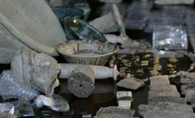 Bulgaria recovers ancient gold artefacts from smugglers