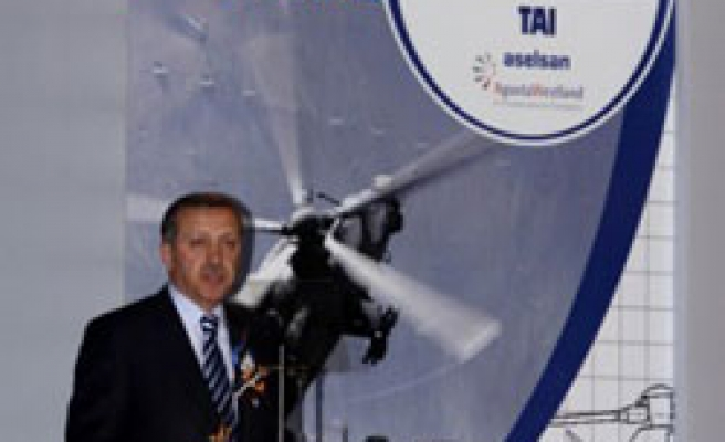 Turkey launches attack helicopter project with Italy