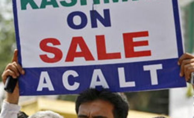 Kashmir land decision to be revoked