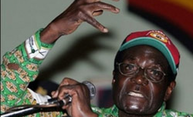 Mugabe declared winner of widely condemned poll