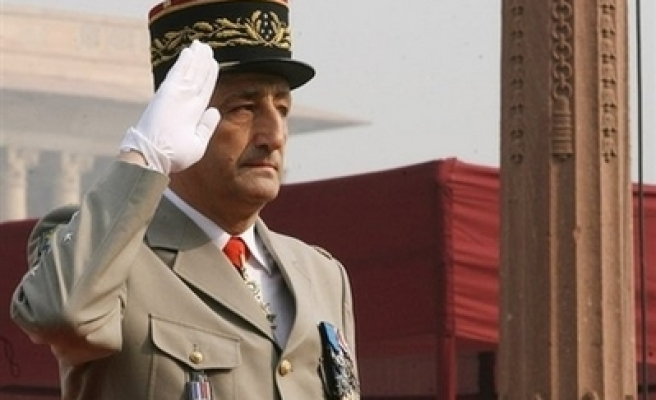 French army chief resigns after shooting incident