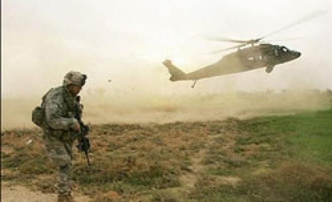 U.S.-led force helicopter shot down in Afghanistan