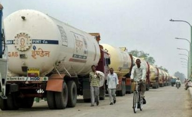 Millions of Indian truckers strike over fuel, taxes