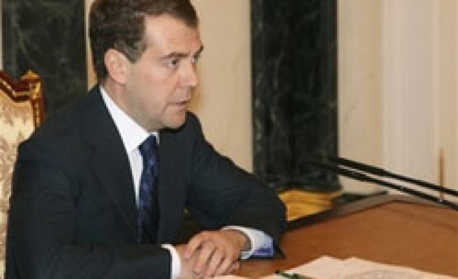 Russia's Medvedev wants anti-corruption laws fast