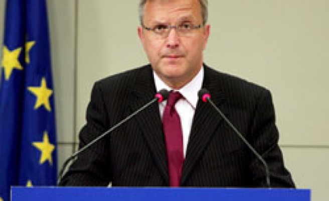 EU's Rehn says talks with Turkey continue 'with stability'