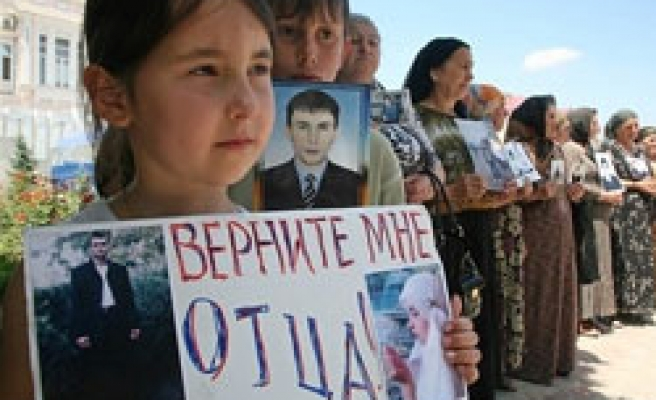 'Around 5,000 abducted in Chechnya since 1994'