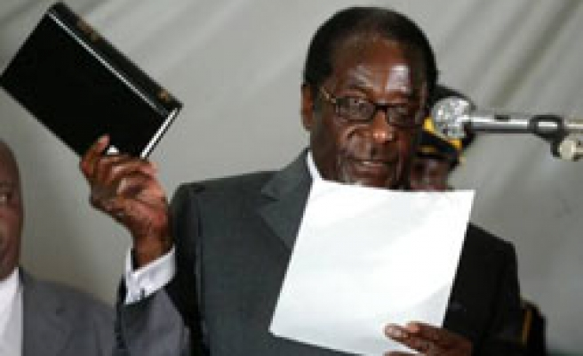 Recognise me as president or no talks: Mugabe