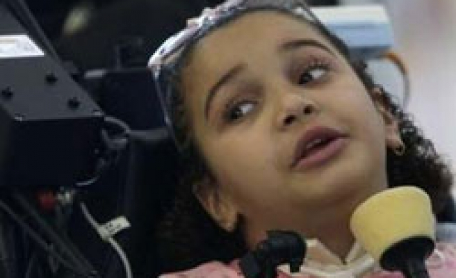 Paralysed Palestinian girl fights against Israel order