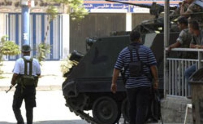 Lebanon troops end clashes in northern city