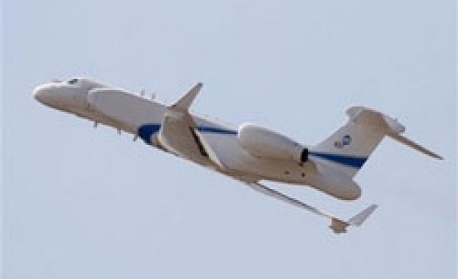 Israel shows plane that can spy on Iran