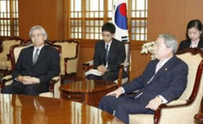 South Korea recalls envoy from Japan in island row